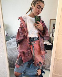 Nathalie Ballout SS18 Kimono Top, Denim, Tees, Collection, Instagram, Women, Fashion, Moda, T Shirts