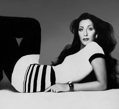 Cher for Vogue, June 1974 by Richard Avedon,