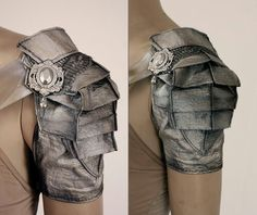 Fabric armor. Cosplay idea