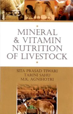 The book discusses all aspects of #mineralandvitaminnutritionoflivestock and provides a clear and comprehensive introduction.