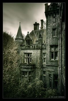 Gothic manor.  Makes me tthink of Wurthering Heights.
