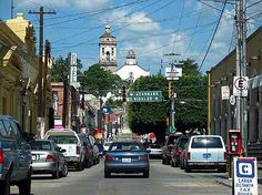 Zinapecuaro, Michoacan Memories....my house is like 2 houses down this Street. .er up this Street lol just came back^.^