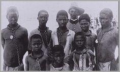 NAMIBIA SLAVERY Escravidão dos Hererós no Século XX.