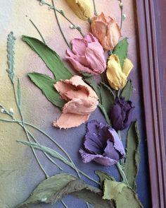 1,270 отметок «Нравится», 68 комментариев — Olga Soloveva (@helgasoloveva) в Instagram: «Доброе утро!☕️Грядёт время тюльпанов! Вы готовы к весне?✨ #объемнаяживопись…»