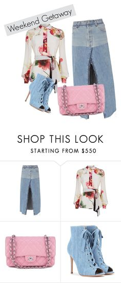 """""""111"""" by yana-ardysheva on Polyvore featuring мода, RE/DONE, Lanvin, Chanel и Gianvito Rossi"""