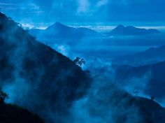 Morning Mist, Knuckles Range    Photograph by Lori Satterthwaite    Watching the morning mist move over the Knuckles range in central Sri Lanka