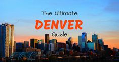 The most comprehensive free Denver travel guide - by a local! Things to do, where to stay, daytrips, tours, transport and more. Denver Colorado, Colorado Springs, Denver Hiking, Denver Travel, Living In Colorado, Nebraska, Wyoming, Aspen, Denver Things To Do