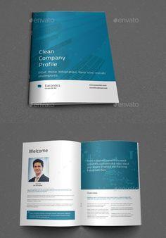 Business Profile Company Brochure, Corporate Brochure, Corporate Design, Company Profile Design Templates, Booklet Design, Brochure Design Layouts, Brochure Template, Flyer Template, Presentation Folder