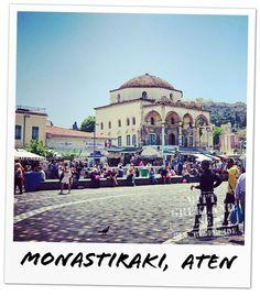 Monastiraki. Aten. Athens.
