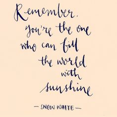 Snow White quote