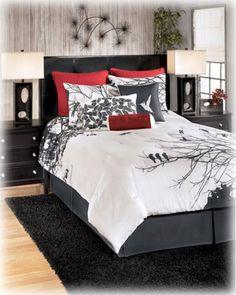 Q286007K by Ashley Furniture in Winnipeg, MB - King TOB Set