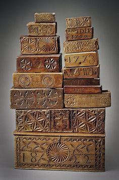 ART POPULAIRE Boites, Coffrets, Plumiers anciens Collection Tous droits réservés ©