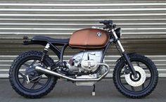 "BMW R80 Street Tracker ""Schizzo"" by Walzwerk Racing #motorcycles #streettracker #motos   caferacerpasion.com"
