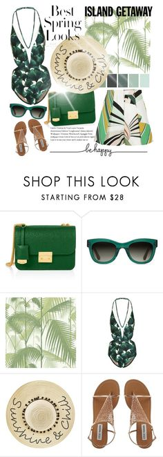 """""""❤❤"""" by fashiontaken1 ❤ liked on Polyvore featuring Henri Bendel, TOMS, Cole & Son, ADRIANA DEGREAS, Betsey Johnson, H&M and Emilio Pucci"""