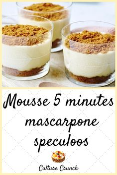 Flan Cake, Torte Cake, Easy Desserts, Delicious Desserts, Yummy Food, Dessert Thermomix, Desserts With Biscuits, Mousse Dessert, Love Food