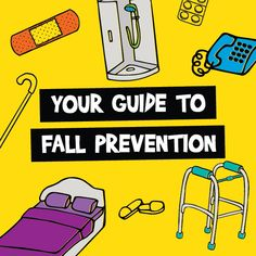 This guide to fall prevention reviews the causes of falls and makes recommendations to help prevent falls, injuries and loss of independence.