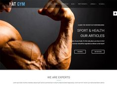 AT Gym Joomla! template by Age Themes on @creativemarket