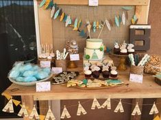 Tribal Chic Baby Shower | So Cute Cookies