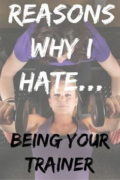 Why I Hate being your Personal Trainer I have been in the fitness industry for over 10 years now. Helping people lose weight is definitely my passion. I have basically done it all, commercial gym, private gym, running my business, creating n Quick Weight Loss Tips, Weight Loss Help, Weight Loss Diet Plan, Weight Loss Plans, Best Weight Loss, Weight Loss Motivation, Health Motivation, Lose 10 Lbs, Lose Weight In A Week