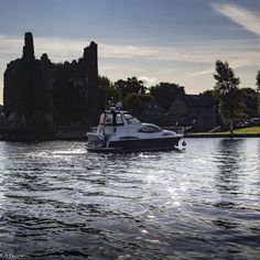 Boat turning in the Dromineer Marina on Lough Derg, Ireland Turning, Ireland, Boat, River, Photo And Video, Videos, Outdoor, Instagram, Outdoors
