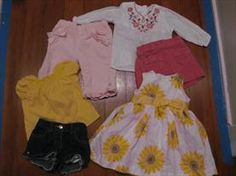 3-6 month baby girl clothing     Price: $5.00