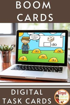This deck will allow your students to practice identifying the beginning syllable sounds with the letter d- Sílabas iniciales con la letra d (da, de, di, do and du). Students look at the pictures, find the beginning syllable, and drag and drop the syllable to complete the word. Fun practice, review, or assessment of common core standard RF.K.3. Bilingual Classroom, Bilingual Education, Classroom Language, Learning Styles, Student Reading, Literacy Centers, Learning Spanish, Classroom Activities, Task Cards