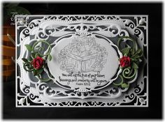 Created with Our Daily Bread Designs' August release, Strawberries and custom die, Fancy Foliage