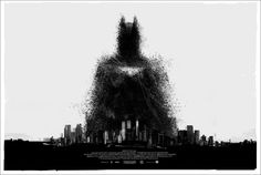 Incredible poster for The Dark Knight Rises.  Another Comic-Con release.    Mondo: The Archive | Jock - The Dark Knight Rises, 2012 movi poster, knights, comic, batman, mondo poster, dark knight, film poster, knight rise, posters