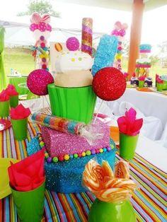 Ideas de decoraci n candy land ideas para fiestas caramelo y fiestas - Decoracion con caramelo ...