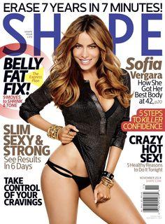 BuzzCanada: Cover Page | Sofia Vergara's Shape Magazine Cover