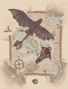 nathanielemmett:  Awesome How to Train Your Dragon t-shirt design by Sergio Mancinelli.