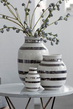 Omaggio Silver Vase