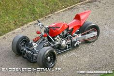 French Honda Reverse Trike
