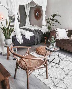 Bohemian Master Bedroom - All About Decoration Decor, Elegant Home Decor, Interior, Elegant Homes, Bohemian Master Bedroom, Bohemian Bedroom Decor, Home Decor, Contemporary Home Decor, Bedroom Decor