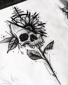 Over 40 Halloween paintings that make you love the supernatural - Crushappy B . - Over 40 Halloween paintings that make you love the supernatural – Crushappy B … – - Dark Art Drawings, Pencil Art Drawings, Art Drawings Sketches, Tattoo Sketches, Tattoo Drawings, Body Art Tattoos, Drawings On Hands, Drawings Of Love, Tatoos