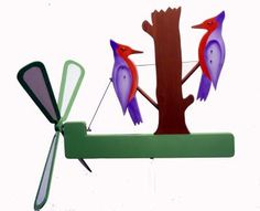 Woodpeckers Whirligig Plan
