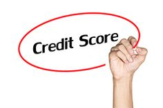 Making a comparison between credit score and credit report