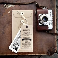 printed luggage tags wedding - Google Search