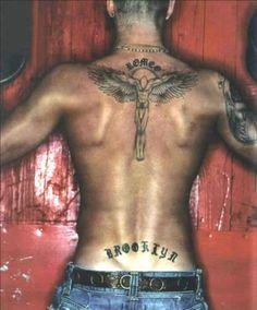 Resultado de imagen para tattoo david beckham espalda