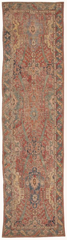Antique 17th Century Gallery Khorassan Persian Rug 3289 Nazmiyal