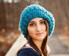 Knitting Pattern  Knit Hat Knitting Pattern PDF for by pixiebell