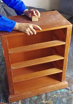 How to Refinish a Dresser - Bob Vila - Diy Furniture Bedroom Furniture Repair, Furniture Projects, Furniture Makeover, Diy Projects, Furniture Refinishing, Refinished Furniture, Furniture Websites, Furniture Online, Project Ideas