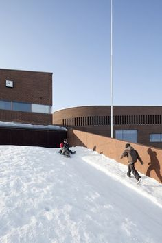 Kirkkojärvi Comprehensive School / Verstas Architects,© Tuomas Uusheimo