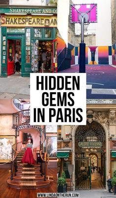 10 Unusual Things To Do In Paris That Are Not The Eiffel Tower - Linda On The Run Looking for unusual things to do in Paris? I love Paris and here are 10 of my favorite unusual things to do in Paris you should not miss while visiting! Paris Travel Guide, Europe Travel Tips, European Travel, Travel Guides, Travel Hacks, Travel Uk, Beach Travel, Train Travel, Travel Goals