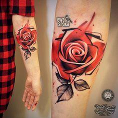 #ewasroka  #tattoo #tattooart #tattooartist #thebesttattooartists #skinart #ink #inkedmag #tattooistartmag #tattooistartmagazine #rose #rosetattoo #girlytattoo #watercolortattoo #watercolourtattoo #worldfamousink @worldfamousink @inkedmag @skinart_mag @tattooistartmag @rocknroll_tattoo_warszawa @rocknroll_tattoo_krakow