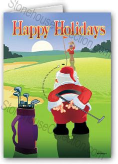 Santa Golf Headcover | GOLFER'S CHRISTMAS | Pinterest | Products ...