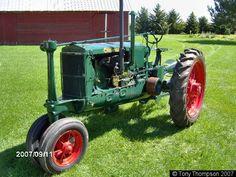 Steel Wheels - The Website for Veteran Tractors 1937 MM Twin City J standard