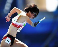 女子400メートル(切断など)で決勝に進出した辻沙絵=井手さゆり撮 #パラリンピック #スポーツ #リオ五輪