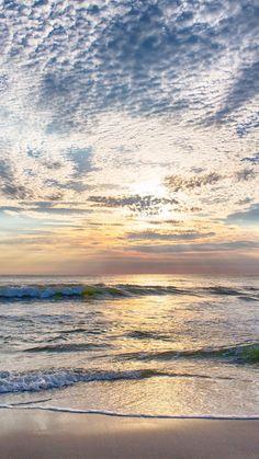 Sunset Westerland Sylt - Sonnenuntergang am Meer - Landscape Edging, Spring Landscape, Beach Landscape, Landscape Photos, Abstract Landscape, Landscape Paintings, Acrylic Paintings, Beautiful Landscape Photography, Beautiful Landscapes