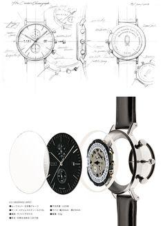 CHRONOGRAPH - 日本製ムーブメントやサファイアガラス等を採用したプレミアムな腕時計 - Knot (ノット)